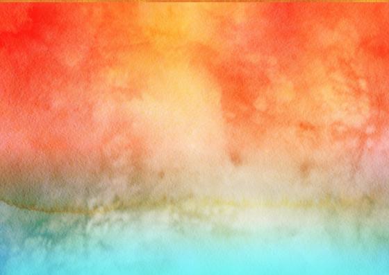 kleurige achtergrond met blauw en oranje