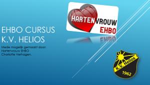 powerpoint presentatie cursus EHBO bij Helios
